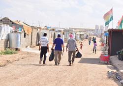 Rojava'nın misafirhanesi Domis Kampı