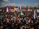 İç Anadolu'dan yükselen Newroz ateşi