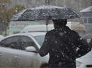 Yüksekova'ya yılın ilk karı yağdı