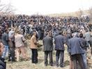 Onbaşılar köyünde çöken evde hayatını kaybeden 4 kişi toprağa verildi