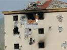 Yüksekova'nın o mahallesinde çatışma ve bombardıman izleri