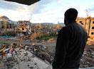 Yüksekova'da evlerin enkazlarından fotoğraflar
