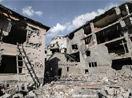Yüksekova'da evlerin enkazlarından yeni fotoğraflar