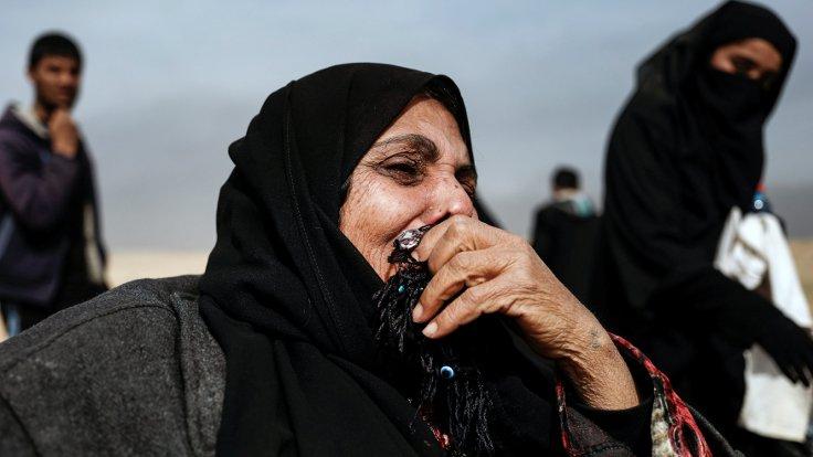 IŞİD'den kaçışın kareleri 1