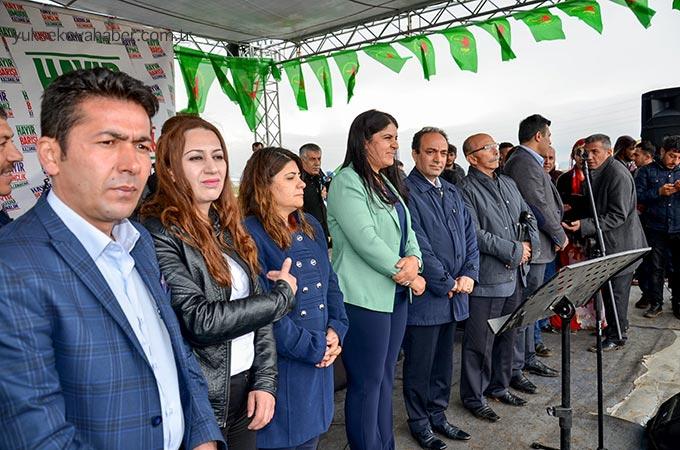 HDP'nin Yüksekova mitinginden fotoğraflar 1