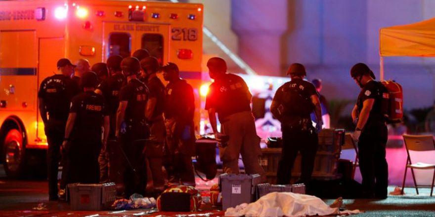 Katliamdan sonra Las Vegas