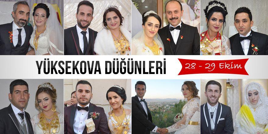 Yüksekova Düğünleri (28 - 29 Ekim 2017)