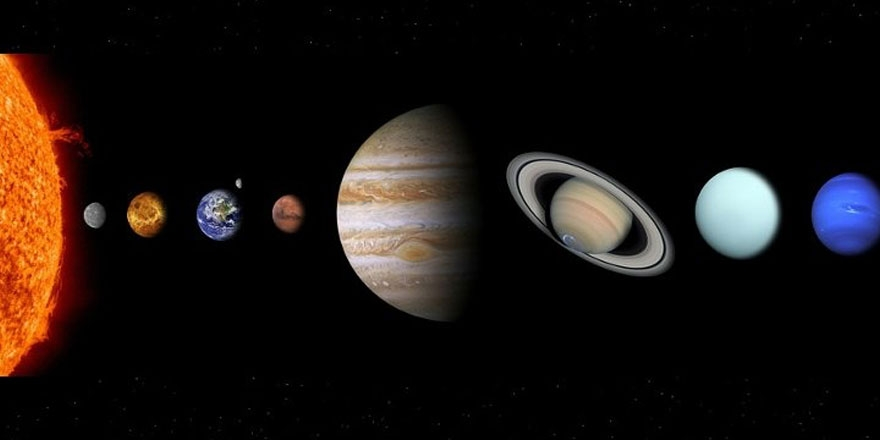 Gezegenlerin isimleri nereden geliyor? 1