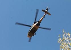 Hakkâri'de helikopter hareketliliği