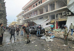 Rojava'da yaşanan saldırı ve çatışmalara Antep'ten tepki