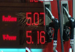 Benzin 4,98 Lira Oldu