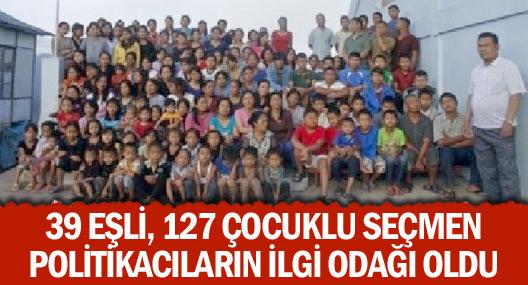 39 Eşli, 127 Çocuklu Seçmen Politikacıların İlgi Odağı Oldu
