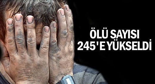 Enerji Bakanı Yıldız: Ölü sayısı 245'e yükseldi