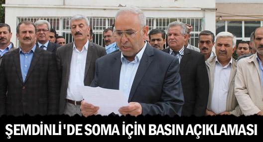 Şemdinli TÜMBEL-SEN'den Soma için basın açıklaması