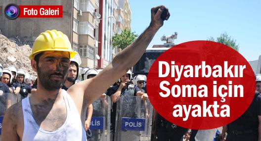 Diyarbakır Soma için ayakta