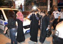6 Suriyeli kadın gözaltına alındı