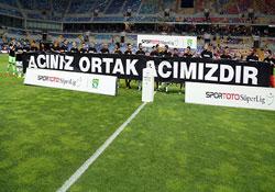 Kayseri'de Soma pankartı!