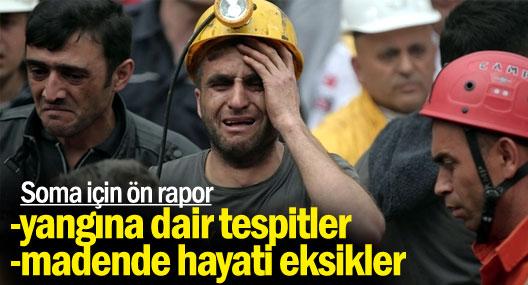 Soma'da savcı ve bilirkişi ilk inceleme için madene girdi