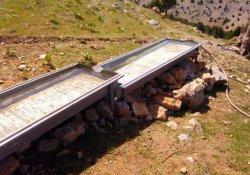 Yaban Keçileri İçin Doğaya Su Tekneleri Bırakıldı