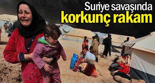 Suriye savaşında ölü sayısı 162 bini geçti