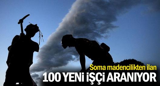 Soma Madencilik'ten ilan: 100 işçi aranıyor