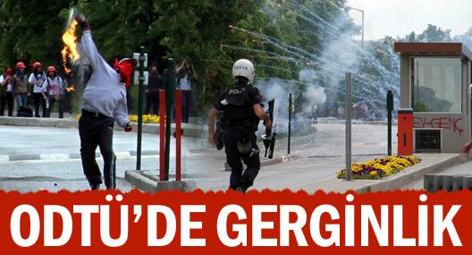 Odtü'den Adalet Bakanlığı'na Yürümek İsteyen Gruba Polis İzin Vermedi