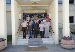 Hakkari'den Milli Güvenlik Sekreteri Türker'e Ziyaret