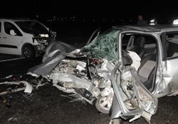 Cizre'de Trafik Kazası: 1 Ölü, 2 Yaralı