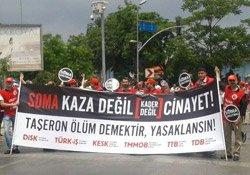 Kadıköy'de taşerona karşı miting