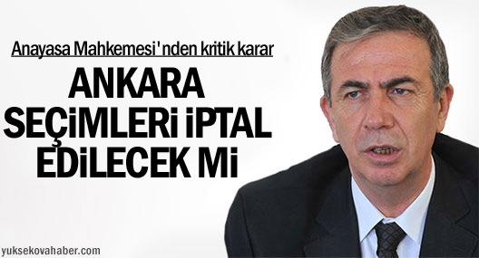 Ankara Seçimleri Tekrar mı Yapılacak