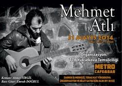 Mehmet Atlı yeniden Yüksekova'da