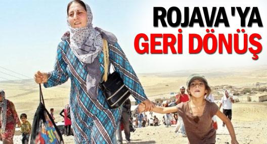 Her ay ortalama 3 bin kişi Kobanê'ye geri dönüyor