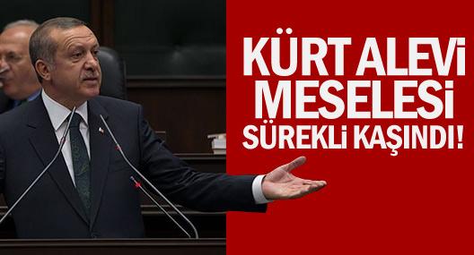 Erdoğan: Kürt ve Alevi meselesi sürekli kaşındı!