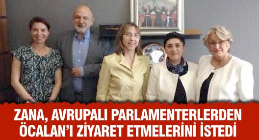 Zana, Avrupalı Parlamenterlerden İmralı'yı Ziyaret Etmelerini İstedi