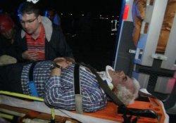 Araç takla attı: 5 yaralı