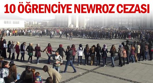 Bingöl Üniversitesi'nde 10 öğrenciye Newroz cezası