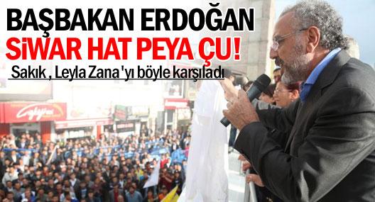 Sakık ve Zana Ağrı'da binlerce kişiye seslendi