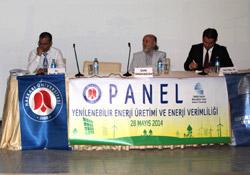 Hakkari'de enerji verimliliği paneli yapıldı