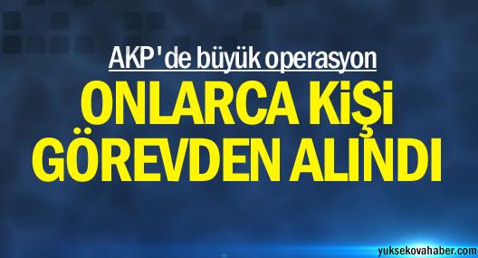AKP'de büyük operasyon