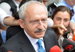 Kılıçdaroğlu, Türkiye Kamu-sen'i Ziyaret Etti