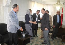 Şemdinli BDP ilçe örgütü Eş Başkanları Ziyaret Etti