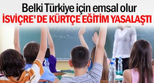 Basel'de Kürtçe eğitim yasallaştı