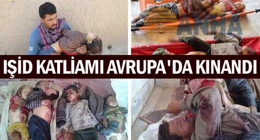 Viyana'da Rojava'daki katliam kınandı