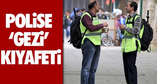 "Polise ""Gezi"" Kıyafeti"