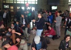 Haydarpaşa'da Gezi eylemi