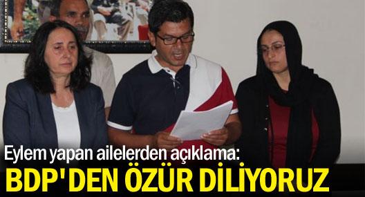 Çetiner ailesinden BDP'ye özür, AKP'ye çağrı