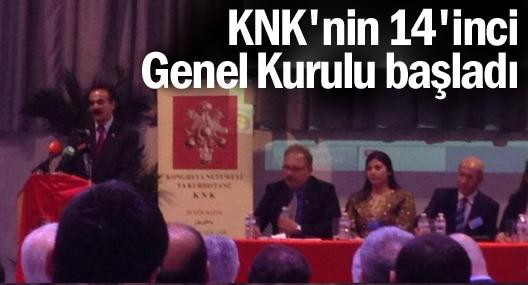 KNK 14. Genel Kurulu başladı