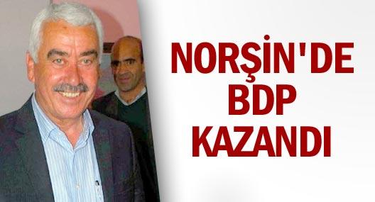 Norşin'de BDP Kazandı