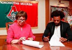 Fernandes Resmen Lokomotiv Moskova'da