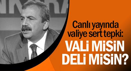 HDP'li Önder: İstanbul'un Valisi Misin, Delisi Misin?